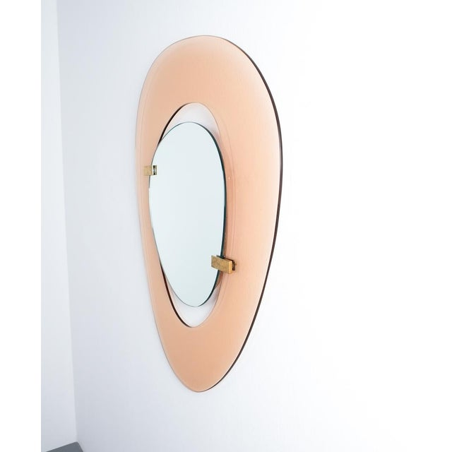 Italian Fontana Arte Mirror by Max Ingrand, Italy Circa 1958 For Sale - Image 3 of 8