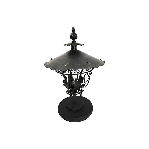 Converted Gas Table Lamps - A Pair - Image 3 of 4