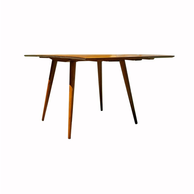 Paul McCobb 1950s Mid Century Modern Paul McCobb Planner Group Drop-Leaf Dining Table For Sale - Image 4 of 11