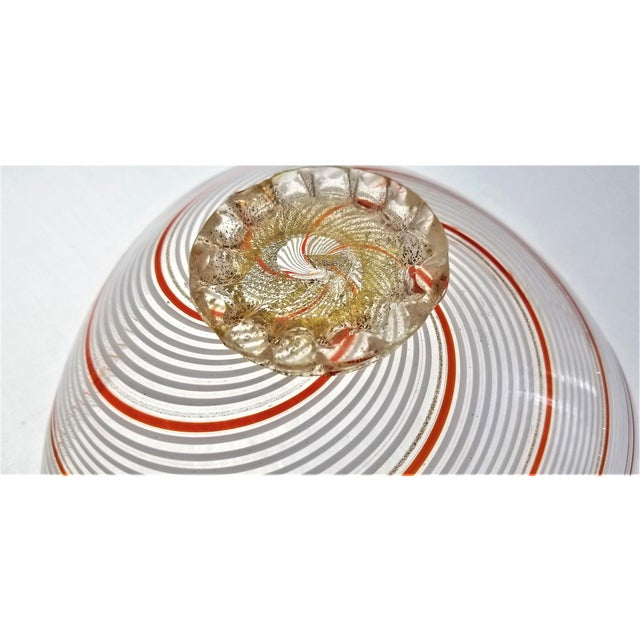 Vintage Murano Glass Bowl by Dino Martens - 1954 For Sale In Miami - Image 6 of 11