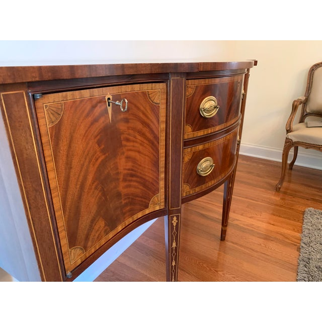 Federal Councill Craftsmen Mahogany Sideboard For Sale In Pittsburgh - Image 6 of 13