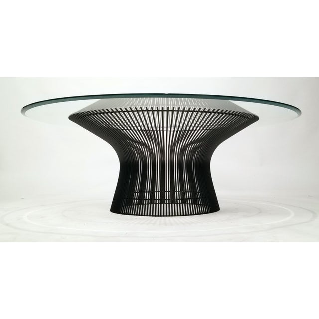 Early Warren Platner Bronze Coffee Table by Knoll, 1966 For Sale In Dallas - Image 6 of 8