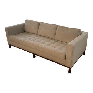 A Rudin Light Grey Sofa For Sale