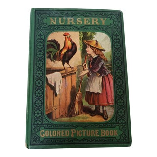 Early 20th Century Victorian Embossed Leather Collectible Children's Book For Sale