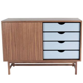 Customizable Audette Single Door Console For Sale