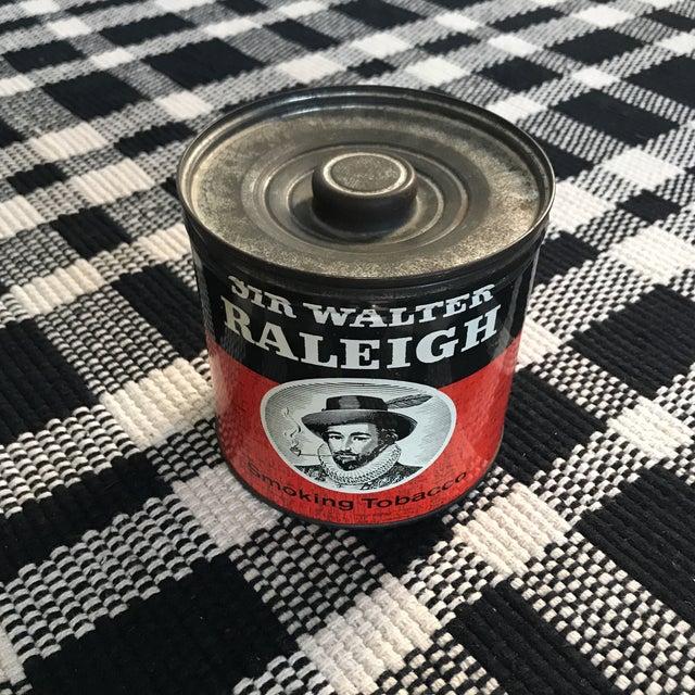 Vintage Tobacco Tin For Sale - Image 4 of 9