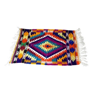 Contemporary Handmade Kilim Rug 3'2'' X 4'7'' For Sale