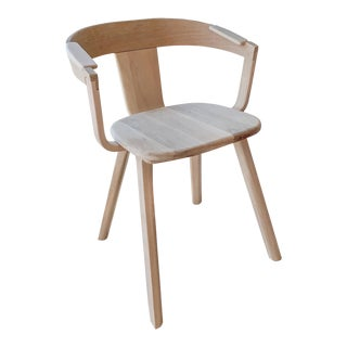 Solid White Oak Chair For Sale