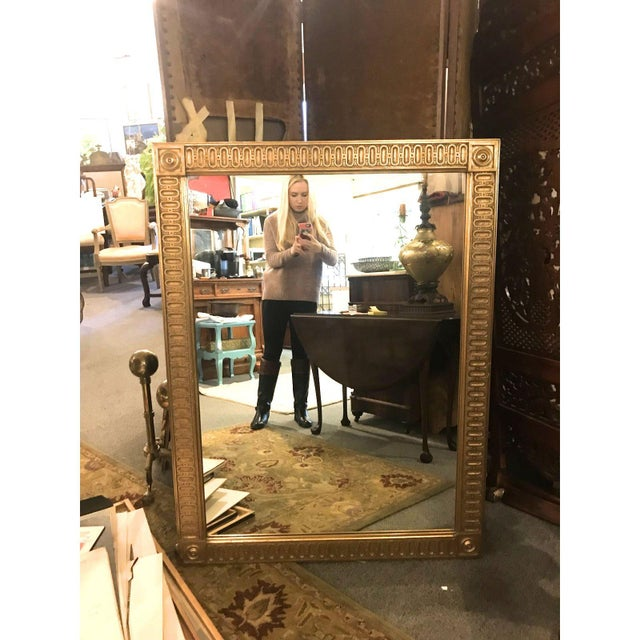 French Empire Oversized Mirror For Sale - Image 4 of 4