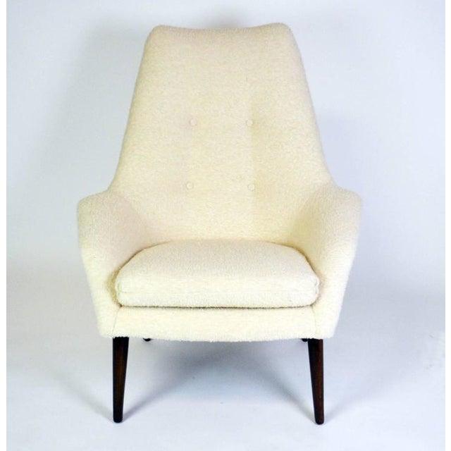 Danish Modern Mid-Century Modern Danish Lounge Chair For Sale - Image 3 of 6