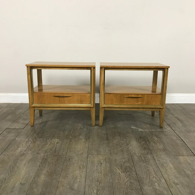 Mid Century Nightstands - a Pair - Image 2 of 11
