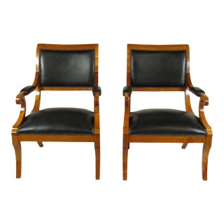 19th Century French Fautueils - a Pair For Sale