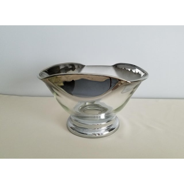 Glass Dorothy Thorpe Mid-Century Bowls - Set of 4 For Sale - Image 7 of 8