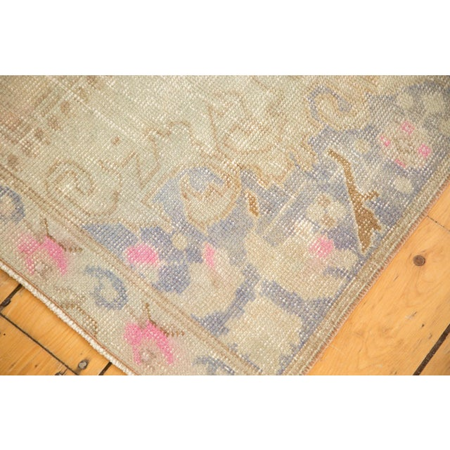 Vintage Distressed Oushak Rug - 4' x 7' - Image 3 of 11