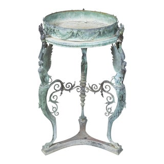 Bronze Jardiniere/Gueridon Table