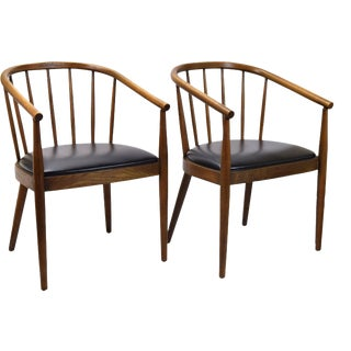 Mid-Century Bentwood Chairs - A Pair