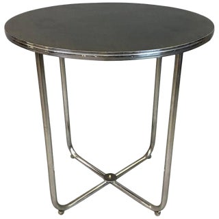 1930s Vintage Gilbert Rohde for Troy Sunshade Art Deco Table For Sale