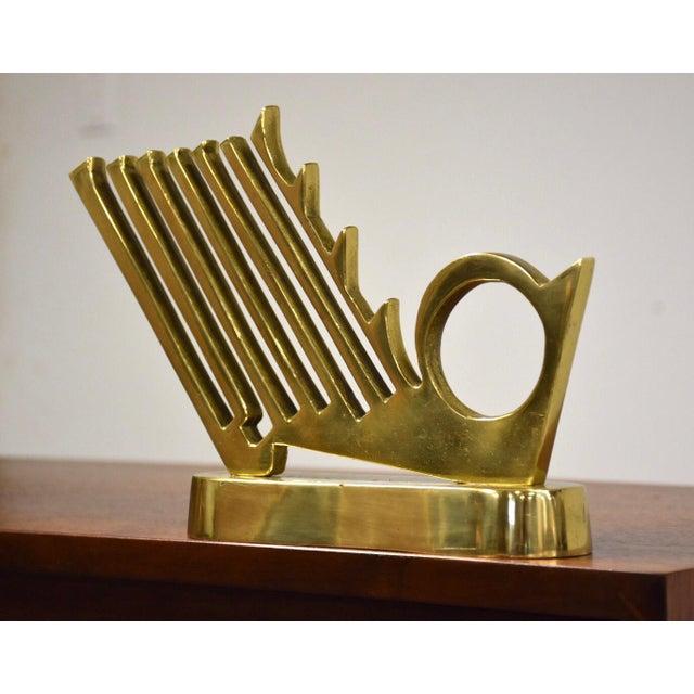 Modern Enzo Pazzagli Bronze Italian Sculpture For Sale - Image 3 of 6