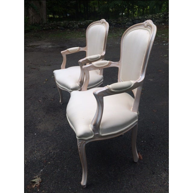French Provincial Armchairs - A Pair - Image 3 of 6