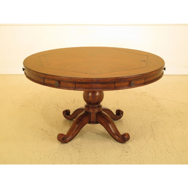 Artistica Round Card Poker Games Table For Sale - Image 13 of 13