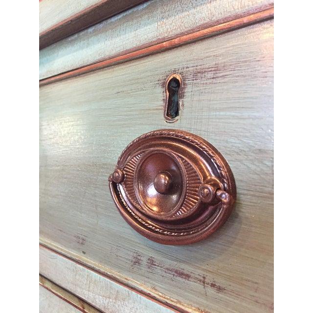Vintage Solid Wood Buffet Sideboard Server - Image 8 of 9