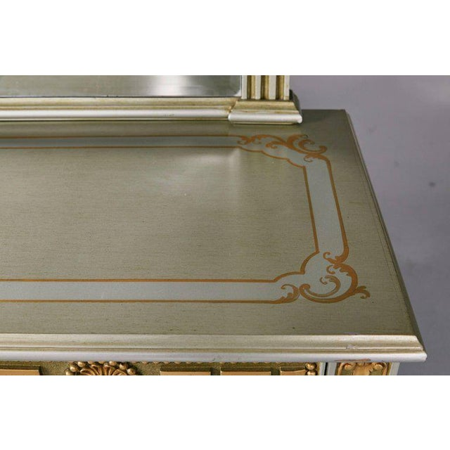 Greek Revival Versace Style Modernist Server With Mirror, Circa 1970 For Sale In Los Angeles - Image 6 of 10