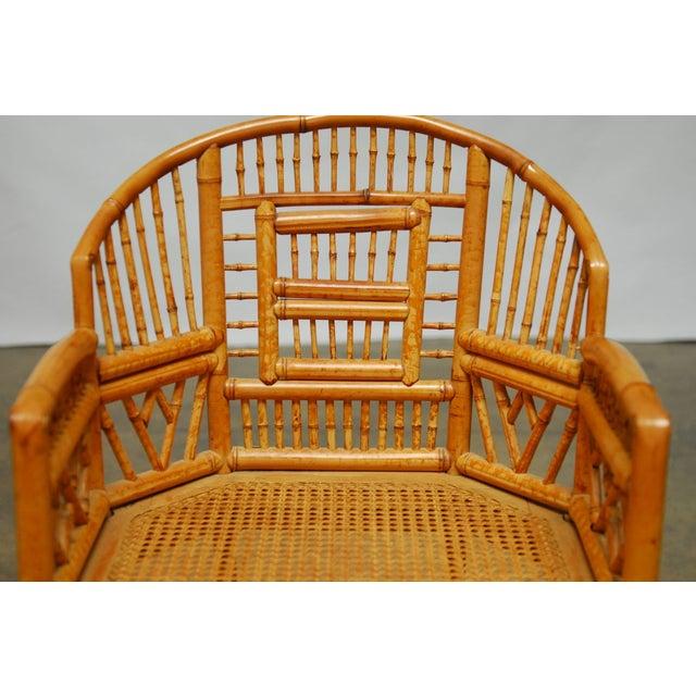 Bamboo Brighton Pavillion Style Armchair - Image 4 of 9