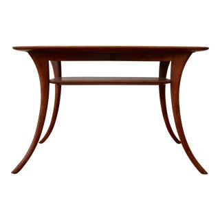 Klismos Sabre Leg Table by T. H. Robsjohn Gibbings for Widdicomb For Sale