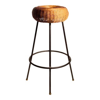 Vintage Rare Tony Paul High Stool For Sale