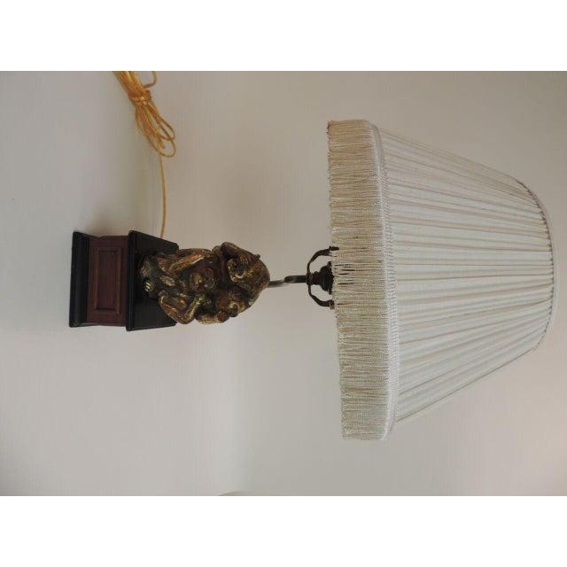 Vintage Monkeys Table Lamp - Image 2 of 7