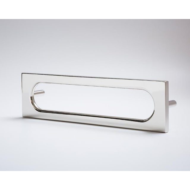 Nest Studio Collection Mod-06S Polished Nickel Handle For Sale - Image 4 of 4