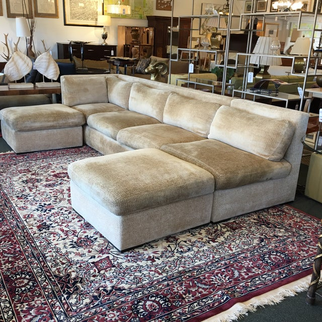 Kreiss 4-Piece Beige Sectional - Image 8 of 10