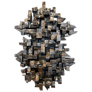 """Ceremony"" Wall Sculpture by Dan Schneiger For Sale"