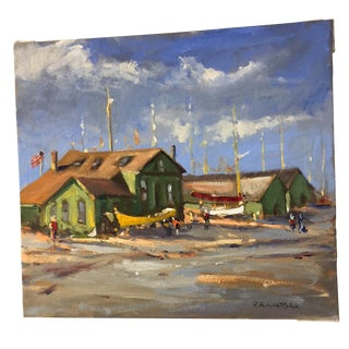 Robert Waltsak Original Oil Painting For Sale