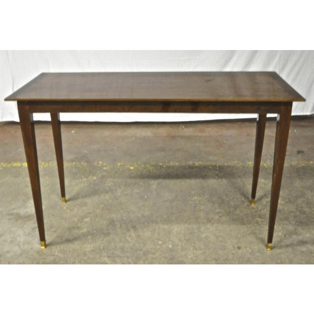 1920s Pure Rosewood Console Table For Sale - Image 5 of 5