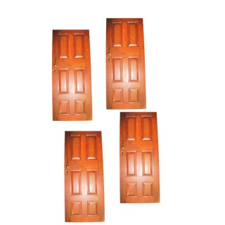 Mahogany Doors - Set of 4
