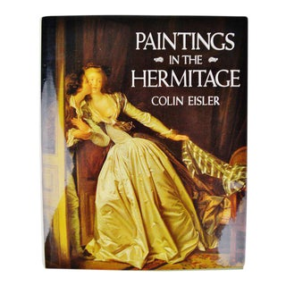 Vintage Paintings In The Hermitage First Edition Coffee Table Book For Sale