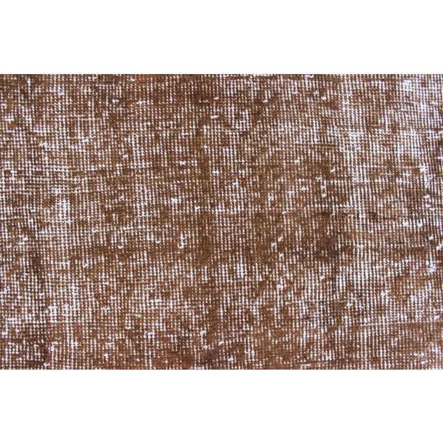 Overdyed Turkish Rug - 7′ × 10′8″ For Sale - Image 5 of 7