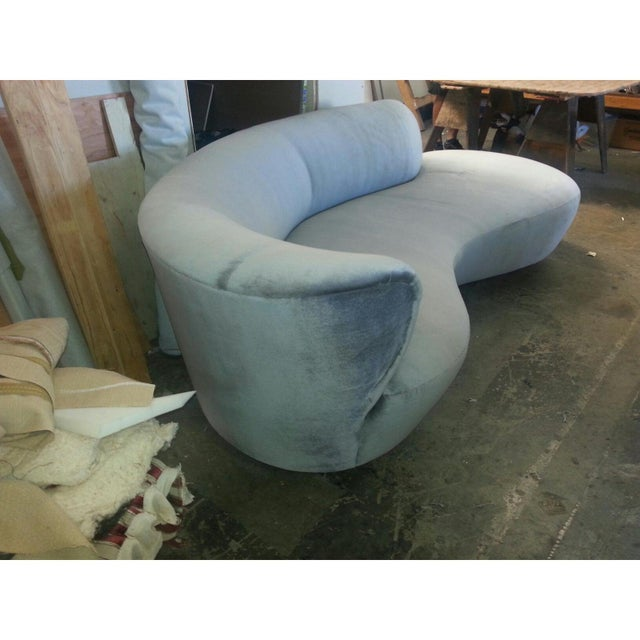 Mid-Century Modern Mid Century Modern Style Chaise Lounge For Sale - Image 3 of 5