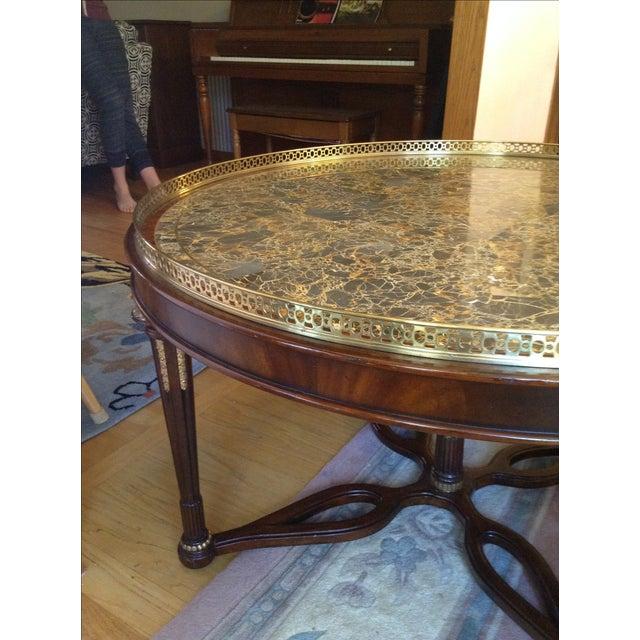 Maitland-Smith Circular Coffee Table - Image 3 of 5