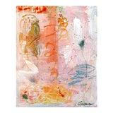 "Image of Lesley Grainger 'Tangerine Dream' 16x20"" Original Abstract Painting"