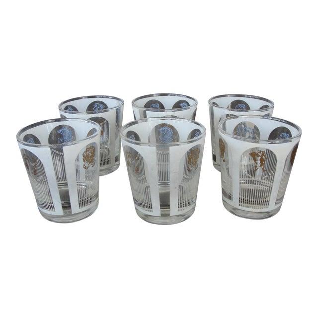 Mid-Century Highball Glasses - Set of 6 - Image 1 of 8