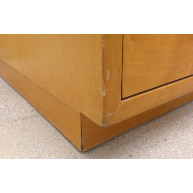 Chrome Mid century Maple Dresser by Jack Cartwright for Founders Furniture For Sale - Image 7 of 8
