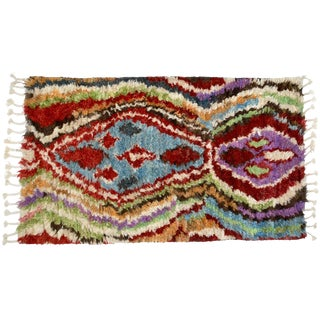 Moroccan Berber Rug - 3′ × 5′7″ For Sale