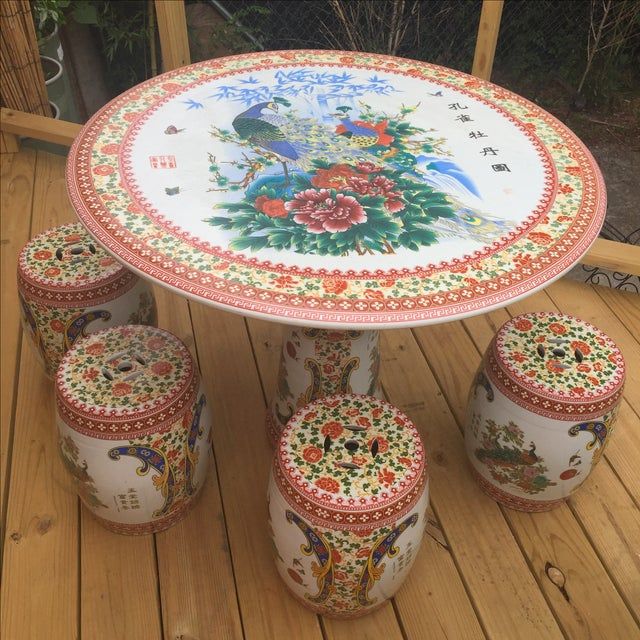 What a great set and unusual. Completely weather proof but can be used indoors too. Put it in your garden and let it snow...