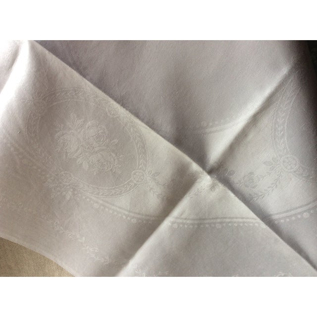 Metal 1900s French Linen Napkins - Set of 10 For Sale - Image 7 of 13