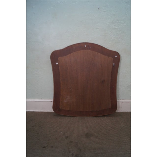 Lexington Tommy Bahama Rattan Frame Beveled Mirror For Sale - Image 9 of 10