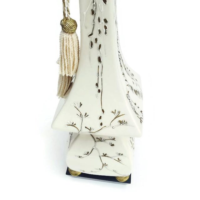 Mid-Century Pagoda Lamp Chinoiserie Table Lamp - Image 5 of 11