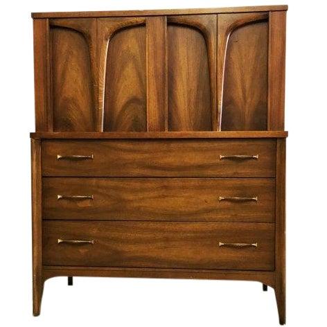 Mid-Century Modern Tallboy Dresser - Image 1 of 6
