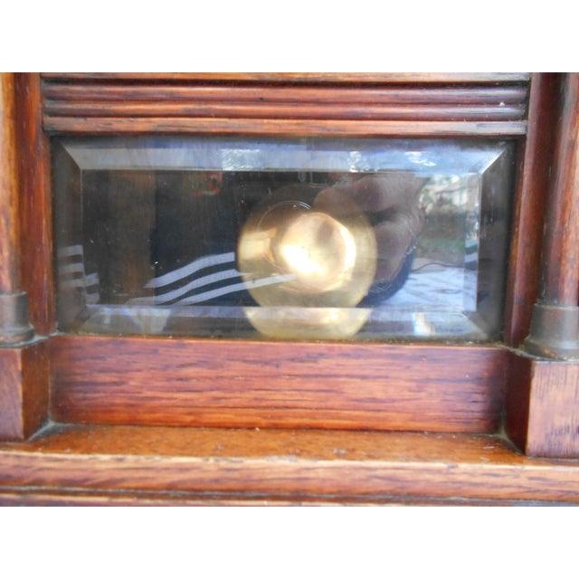 Vintage Mantle Clock For Sale - Image 9 of 10
